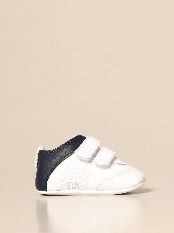Zapatos Emporio Armani: Zapatos niños Emporio Armani azul oscuro 1