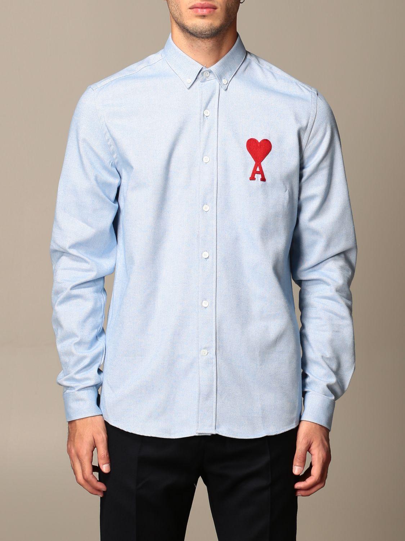 Shirt Ami Alexandre Mattiussi: Shirt men Ami Alexandre Mattiussi sky blue 1