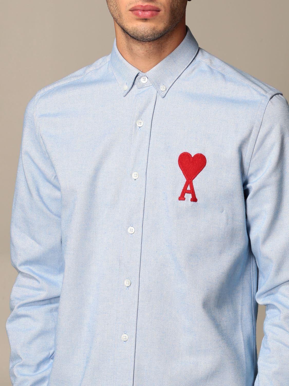 Shirt Ami Alexandre Mattiussi: Shirt men Ami Alexandre Mattiussi sky blue 3