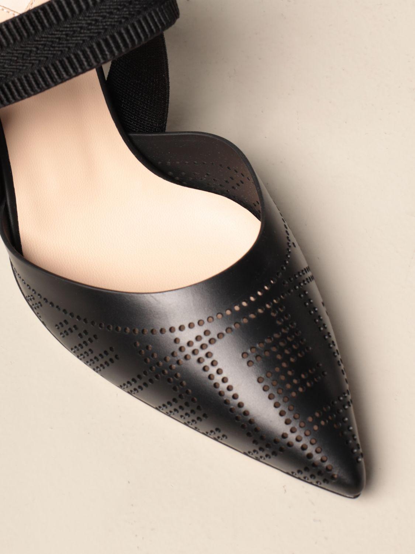Sandalen mit Absatz Fendi: Schuhe damen Fendi schwarz 5