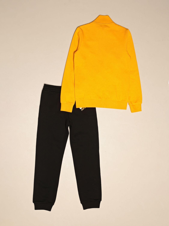 Tracksuit Ea7: Complete sweatshirt + EA7 trousers with logo yellow 2