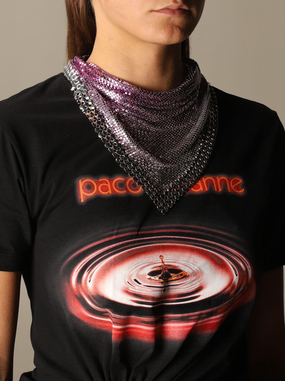 Bijou Paco Rabanne: Bijoux femme Paco Rabanne rose 4
