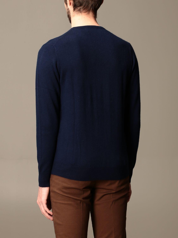 Sweater Alessandro Dell'acqua: Alessandro Dell'acqua cashmere crewneck sweater blue 2