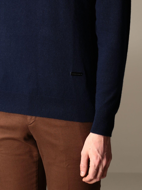 Sweater Alessandro Dell'acqua: Alessandro Dell'acqua cashmere crewneck sweater blue 3