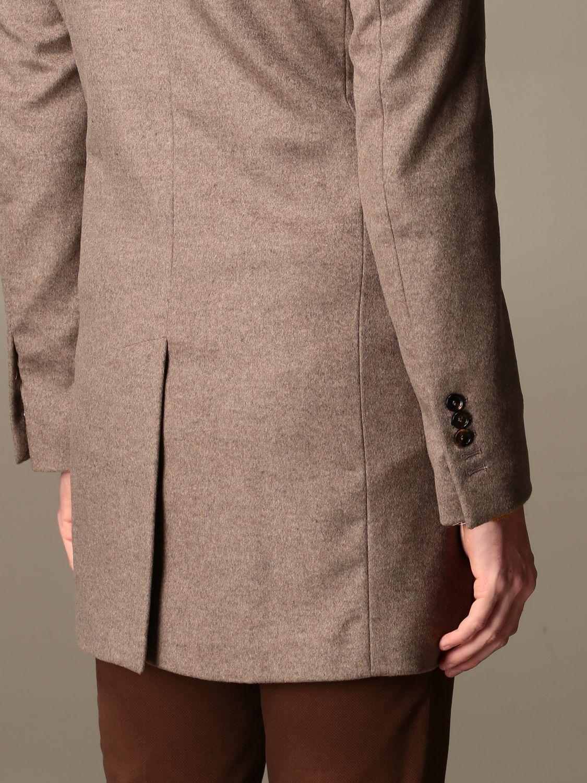 Coat Alessandro Dell'acqua: Coat men Alessandro Dell'acqua mud 3