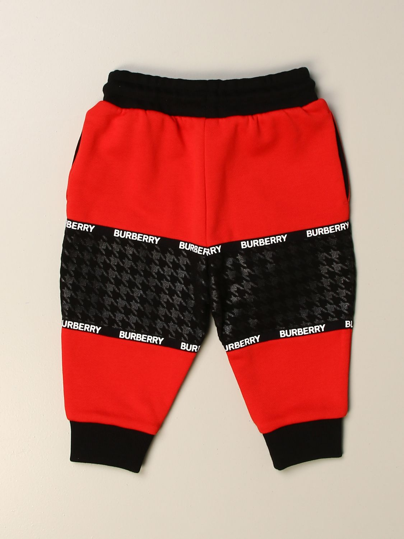 Pantalón Burberry: Pantalón niños Burberry rojo 2