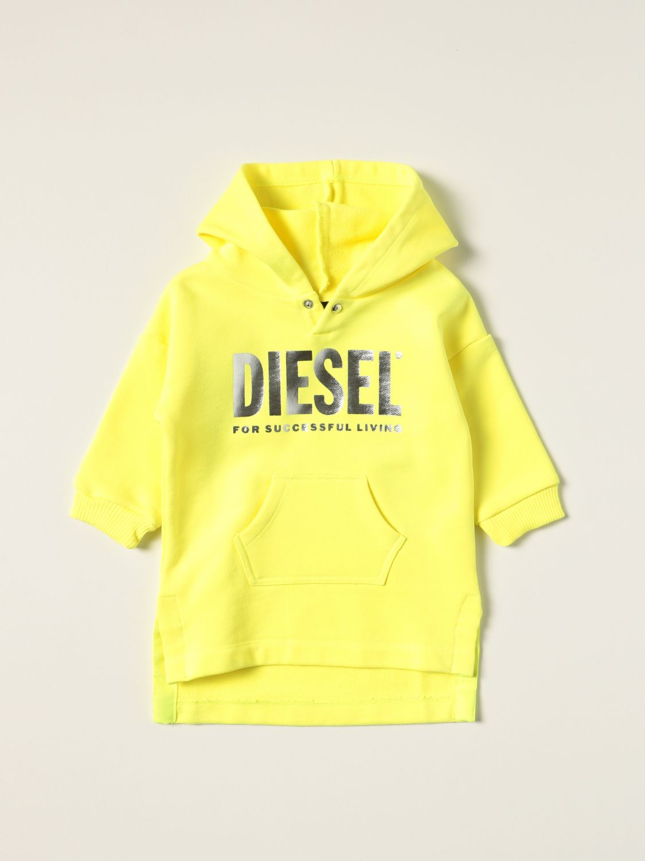 Pelele Diesel: Pelele niños Diesel amarillo 1