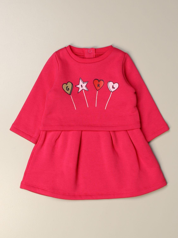 Pelele Billieblush: Pelele niños Billieblush rosa 1