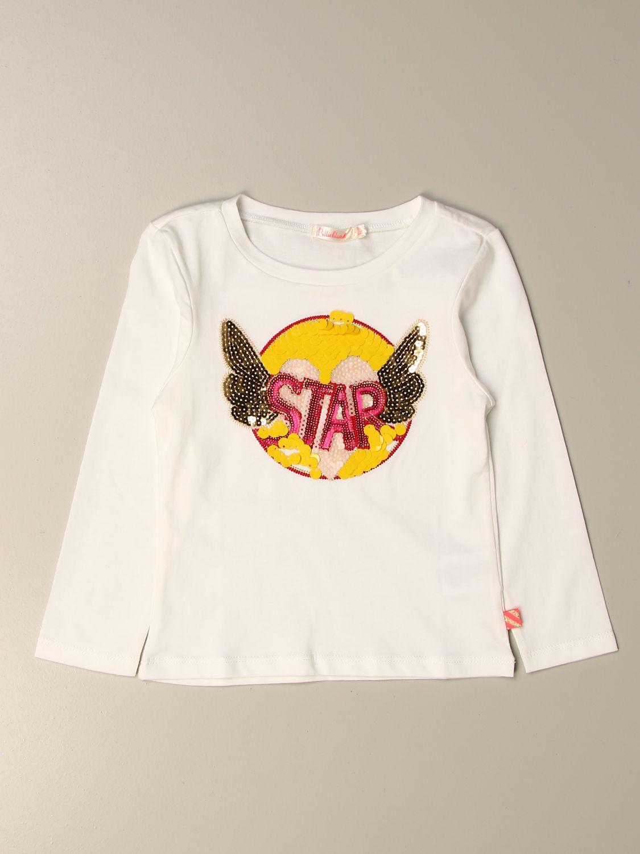 T-shirt Billieblush: T-shirt kids Billieblush ivory 1