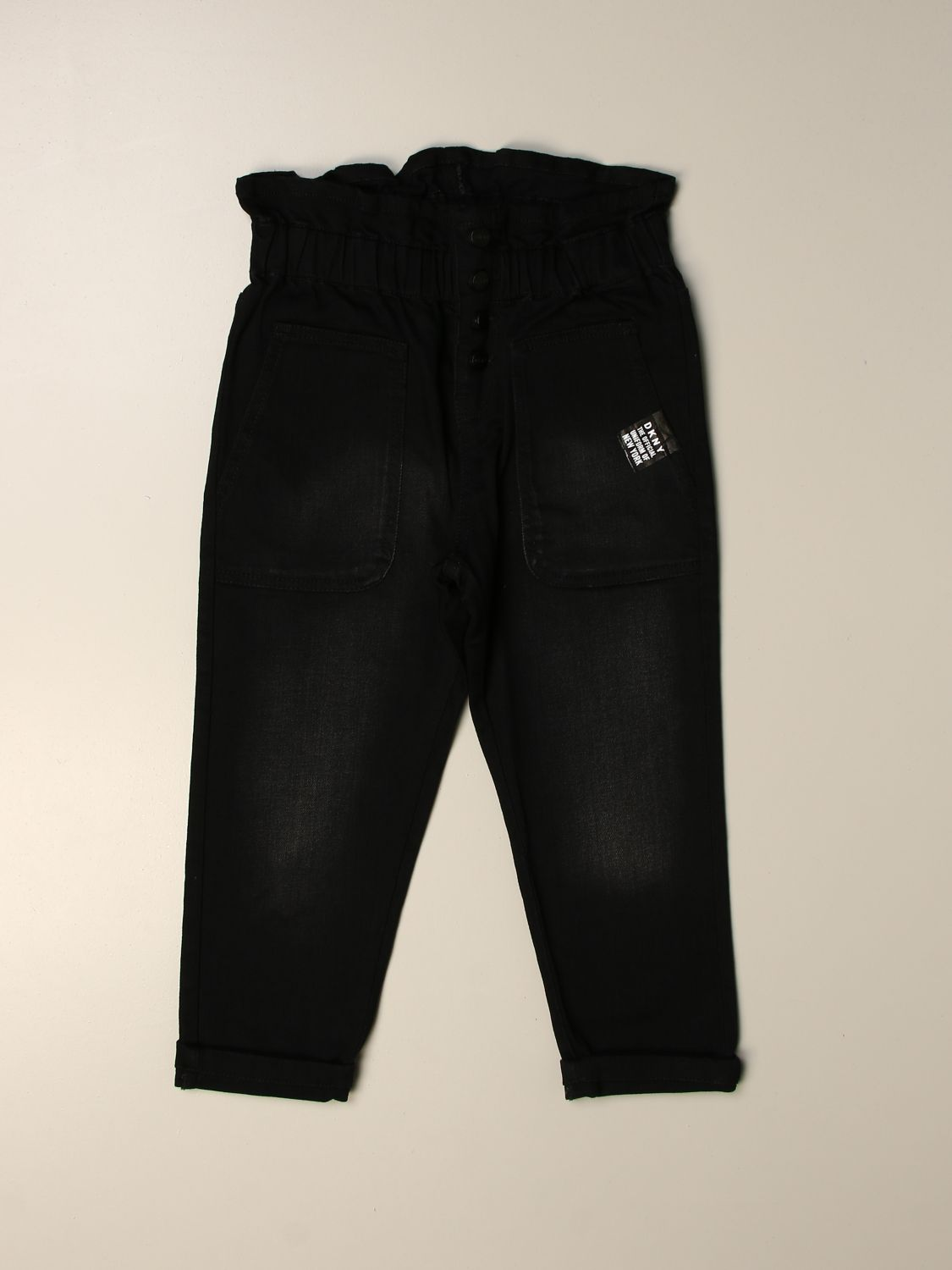 Trousers Dkny: Trousers kids Dkny black 1