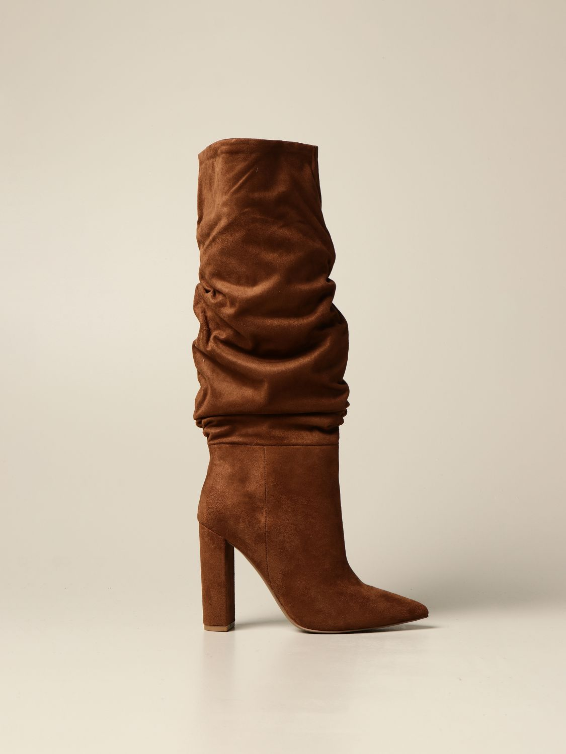 Boots Steve Madden: Steve Madden boot in synthetic suede brown 1