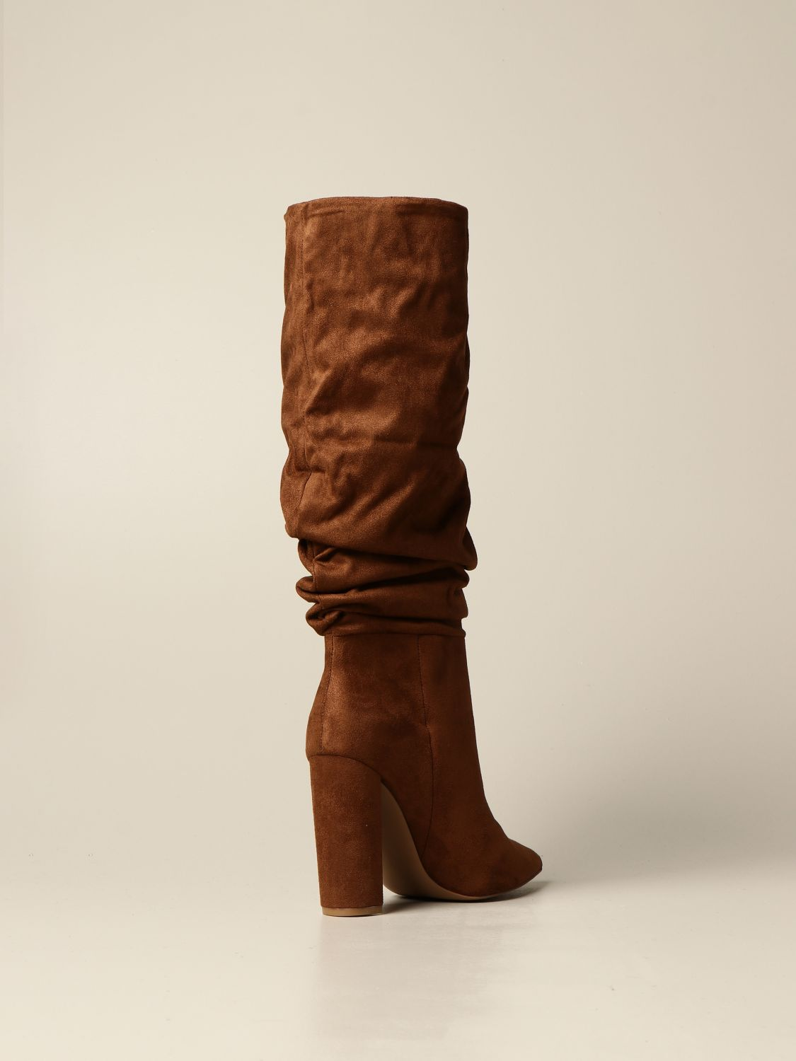 Boots Steve Madden: Steve Madden boot in synthetic suede brown 3