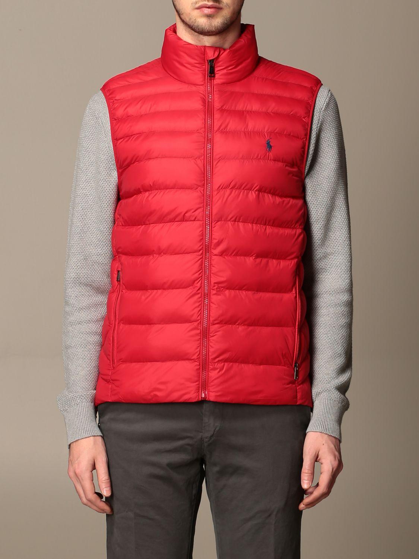 Gilet Polo Ralph Lauren: Gilet homme Polo Ralph Lauren rouge 1