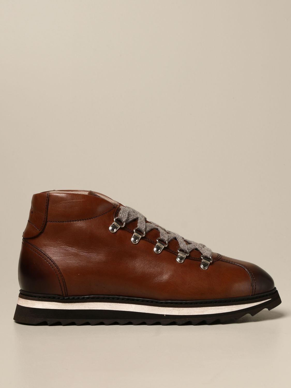 Schnürschuhe Doucal's: Schuhe herren Doucal's braun 1