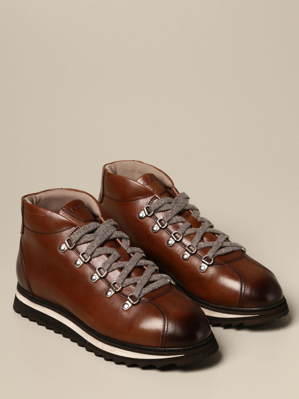 Schnürschuhe Doucal's: Schuhe herren Doucal's braun 2