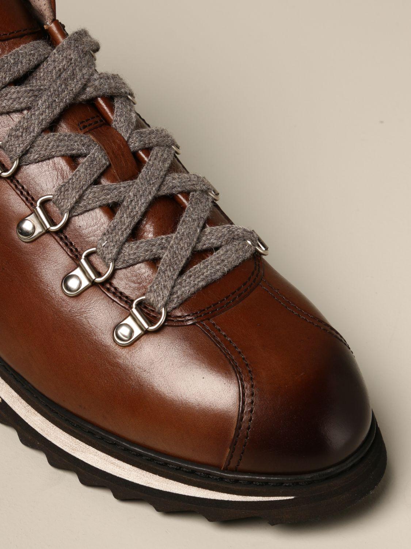 Schnürschuhe Doucal's: Schuhe herren Doucal's braun 4
