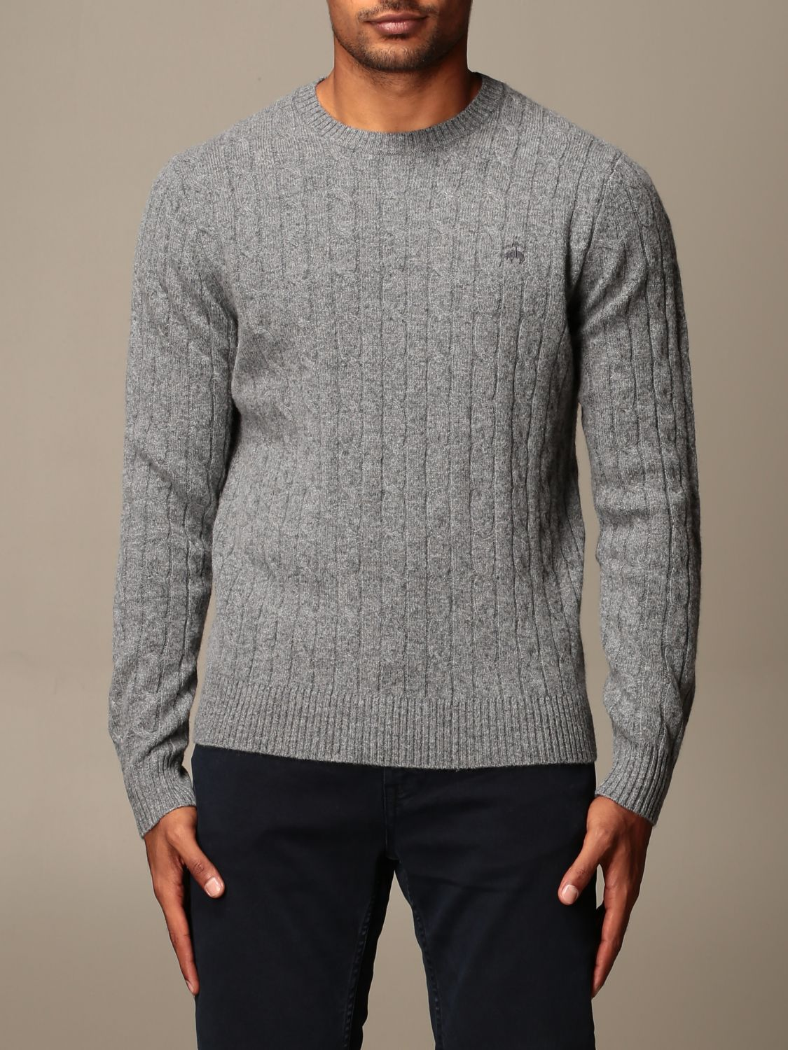 Jersey Brooks Brothers: Jersey hombre Brooks Brothers gris 1