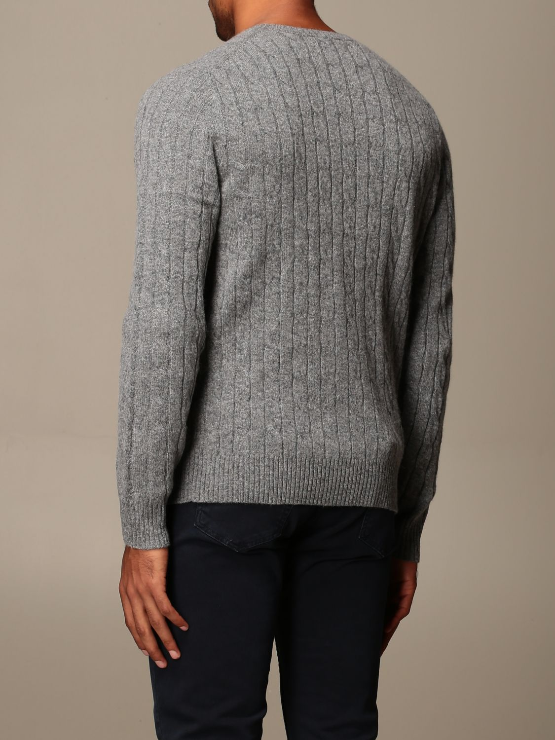 Jersey Brooks Brothers: Jersey hombre Brooks Brothers gris 2