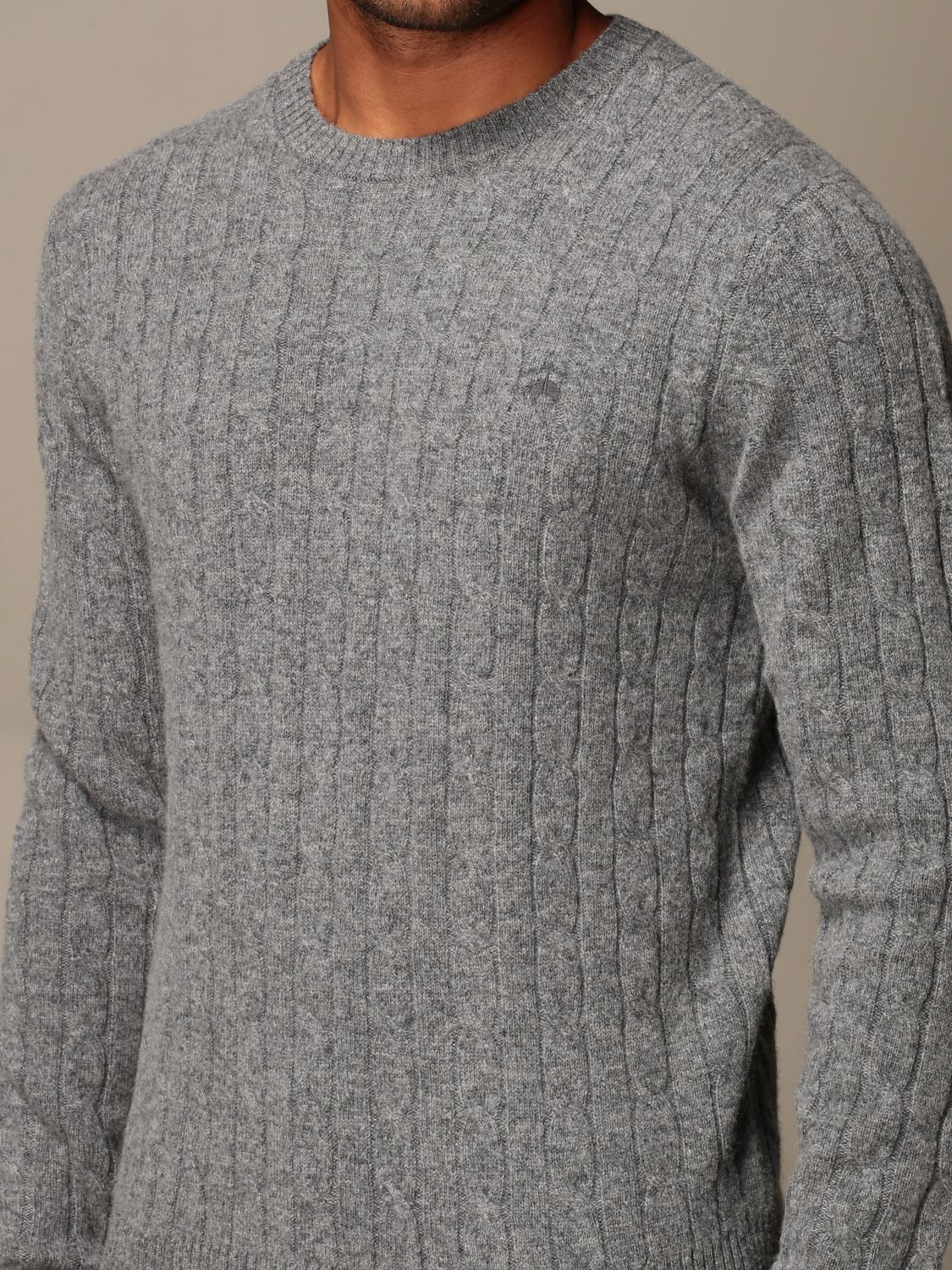 Jersey Brooks Brothers: Jersey hombre Brooks Brothers gris 3
