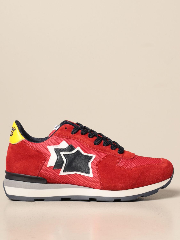 Sneakers Atlantic Stars: Sneakers men Atlantic Stars red 1