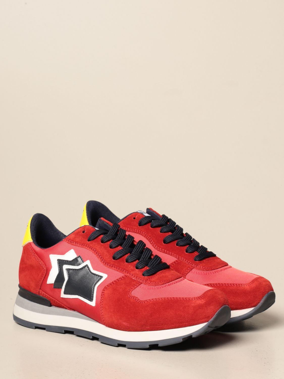 Sneakers Atlantic Stars: Sneakers men Atlantic Stars red 2