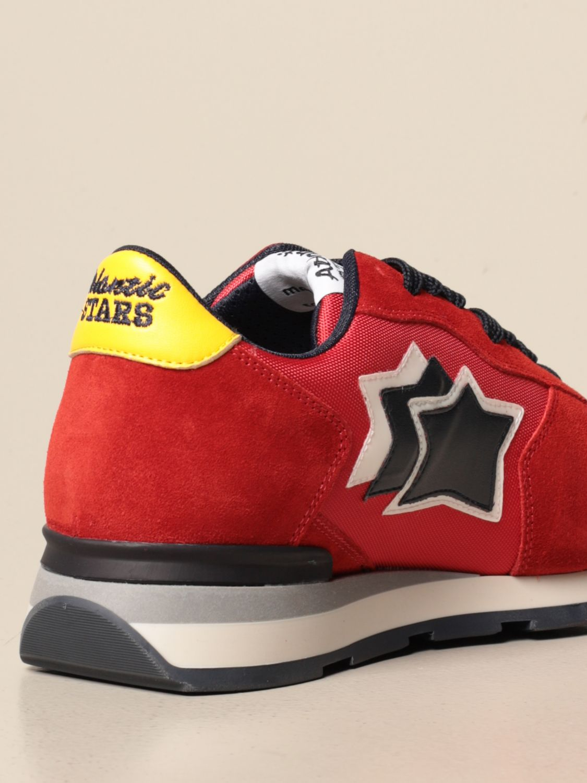 Sneakers Atlantic Stars: Sneakers men Atlantic Stars red 3