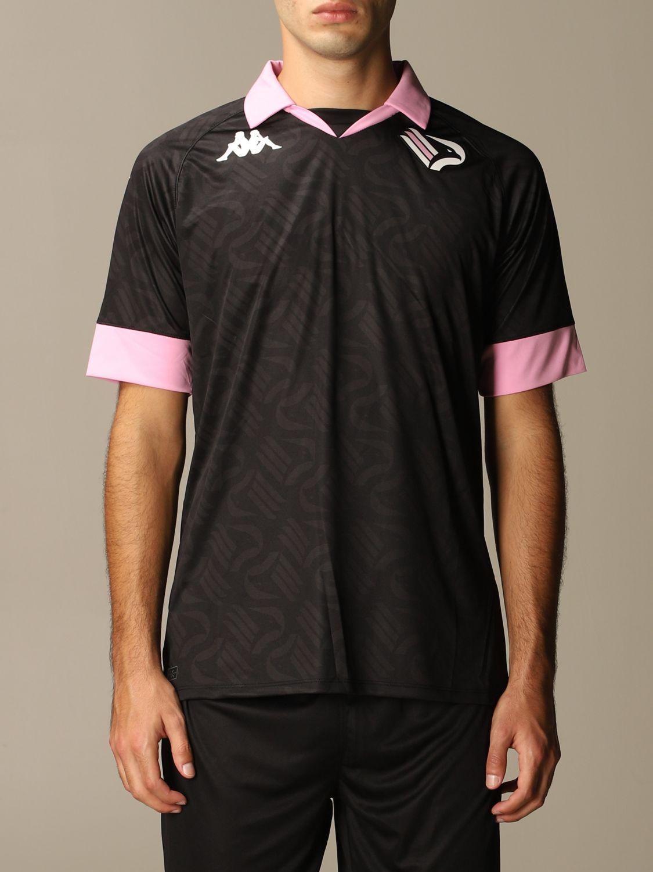 T-shirt Palermo: Maglia kombat palermo in tessuto interlock nero 1