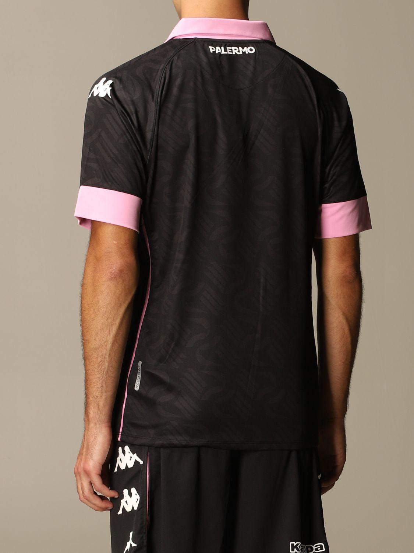 T-shirt Palermo: Maglia kombat palermo in tessuto interlock nero 3
