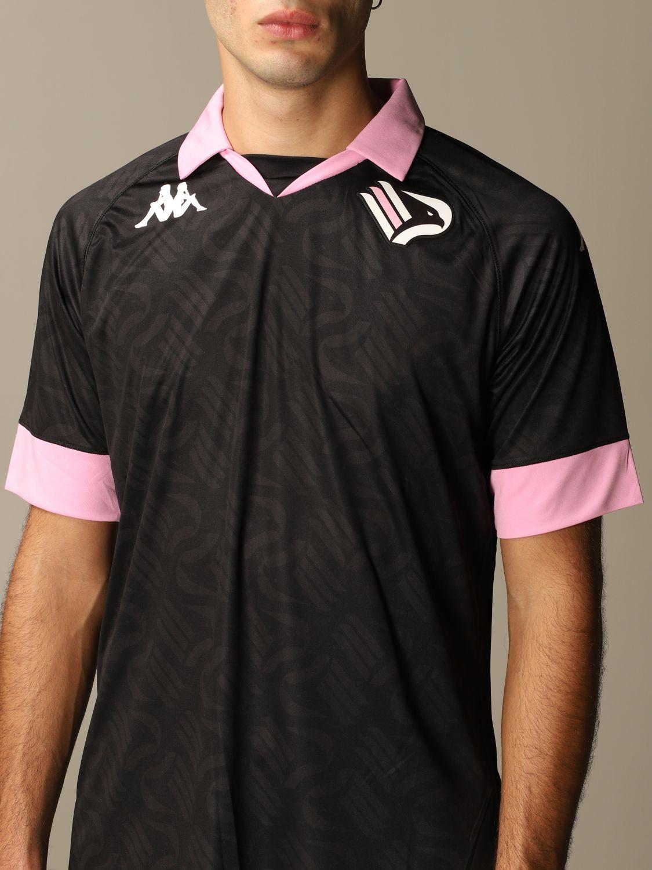 T-shirt Palermo: Maglia kombat palermo in tessuto interlock nero 4