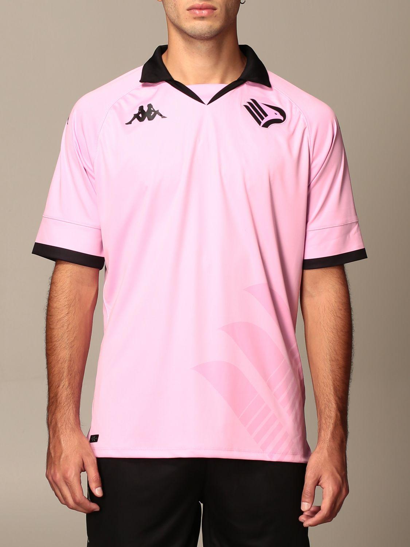 T-shirt Palermo: Maglia kombat palermo in tessuto interlock rosa 1