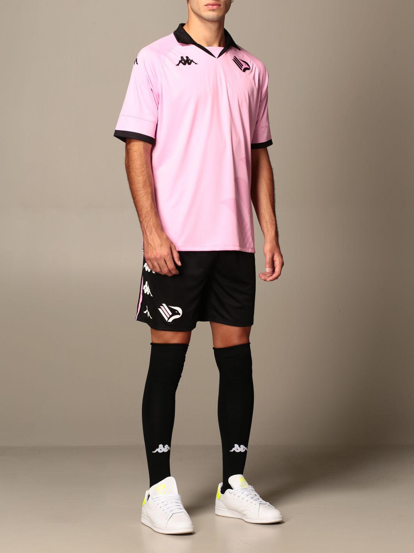 T-shirt Palermo: Maglia kombat palermo in tessuto interlock rosa 2