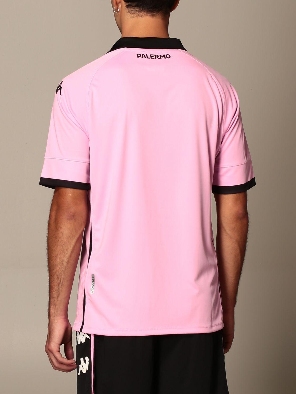 T-shirt Palermo: Maglia kombat palermo in tessuto interlock rosa 3