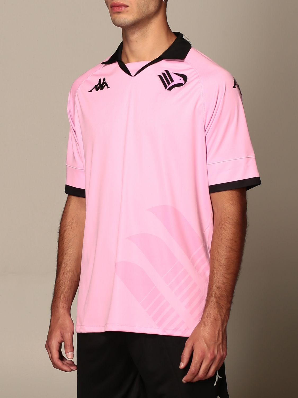 T-shirt Palermo: Maglia kombat palermo in tessuto interlock rosa 4