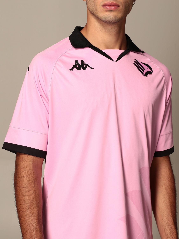 T-shirt Palermo: Maglia kombat palermo in tessuto interlock rosa 5