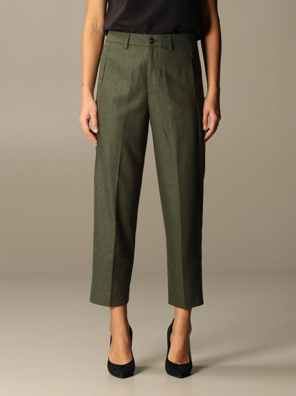 Pants Closed: Pants women Closed green 1
