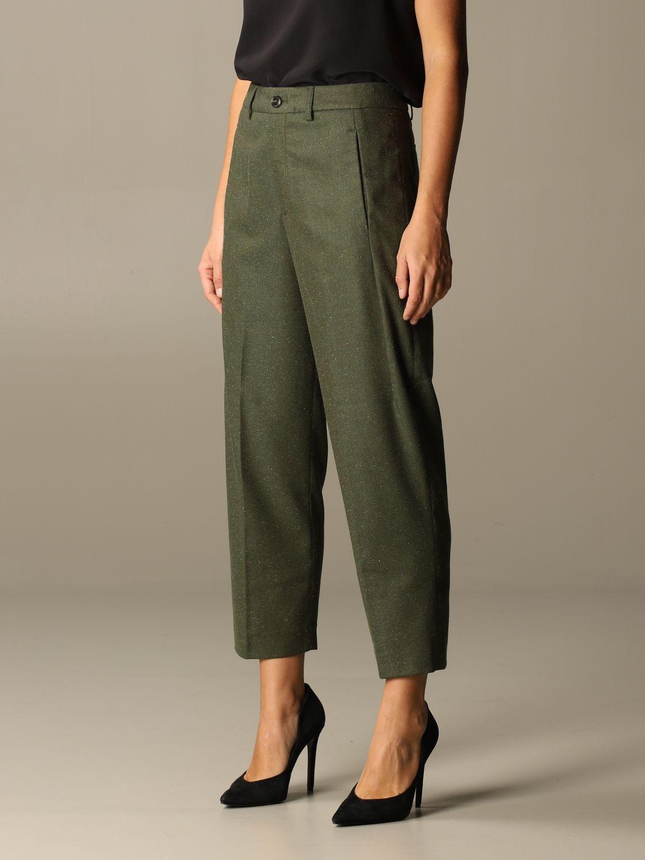 Pants Closed: Pants women Closed green 3