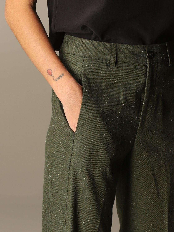 Pants Closed: Pants women Closed green 4