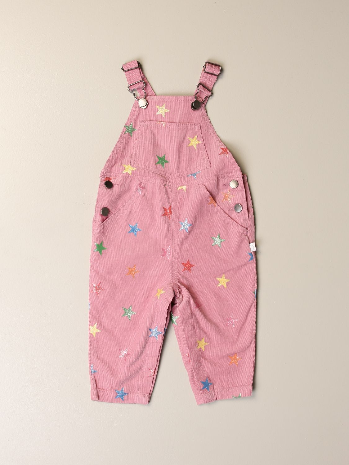 Tracksuit Stella Mccartney: Stella McCartney dungarees with all-over stars pink 1