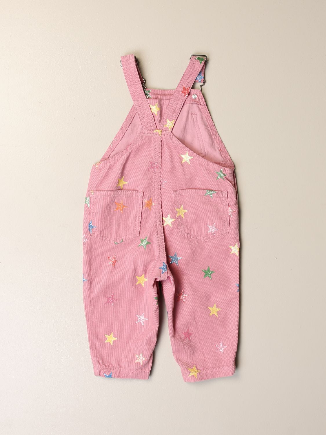 Tracksuit Stella Mccartney: Stella McCartney dungarees with all-over stars pink 2