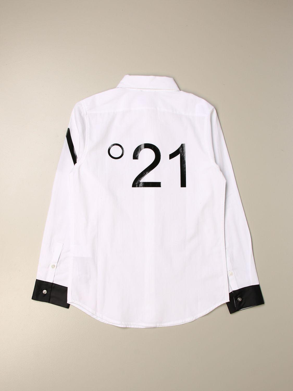 Camicia N° 21: Camicia bambino N° 21 bianco 2