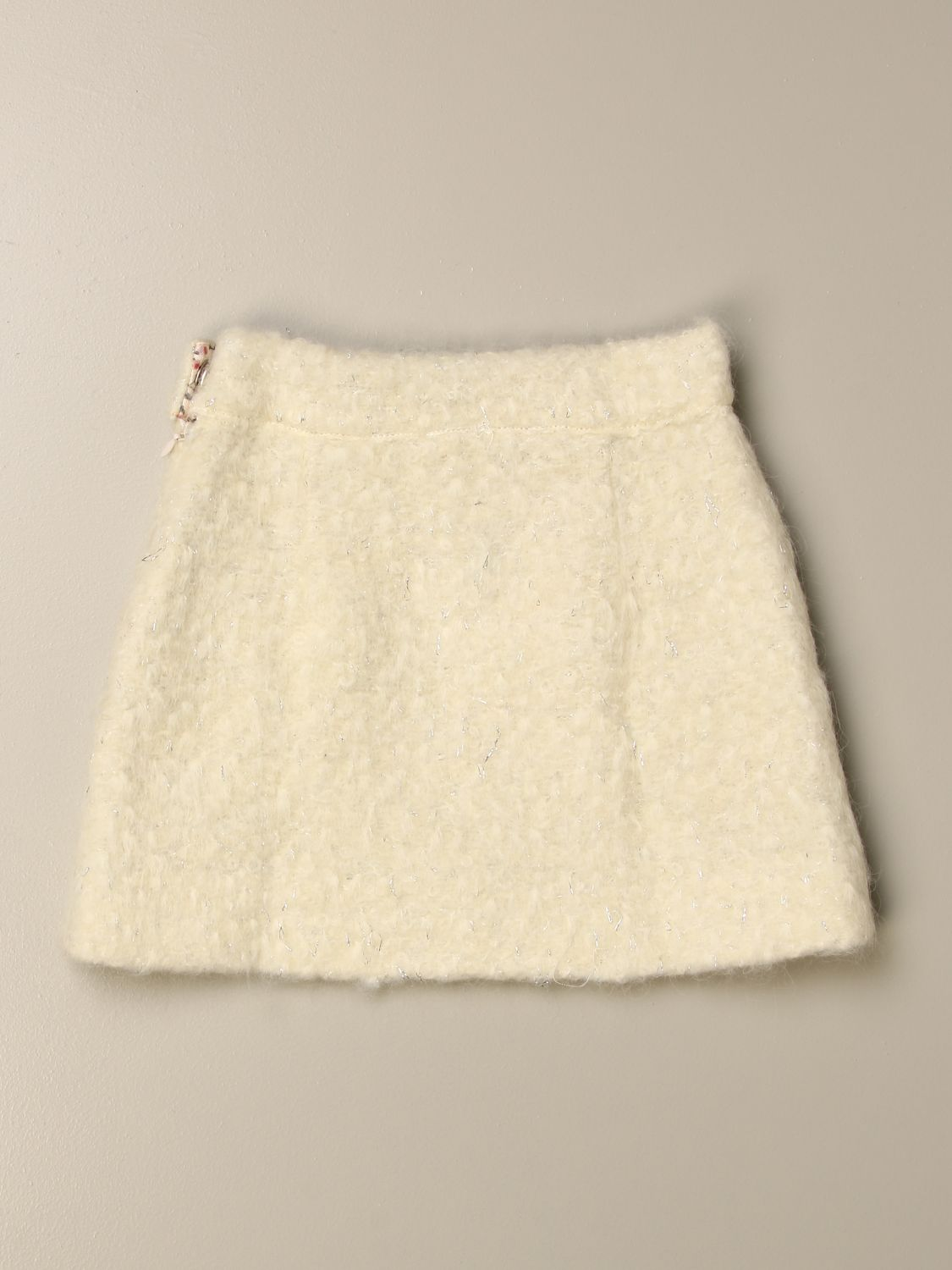 Skirt Caffe' D'orzo: Skirt kids Caffe' D'orzo milk 2