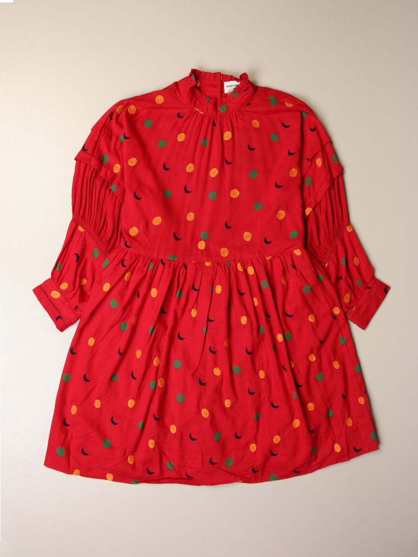 Vestido Bobo Choses: Vestido niños Bobo Choses rojo 1