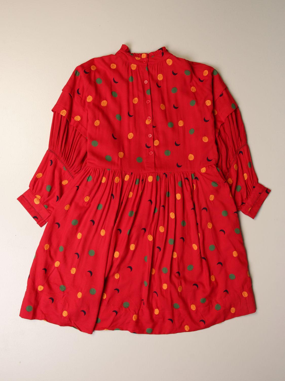 Vestido Bobo Choses: Vestido niños Bobo Choses rojo 2