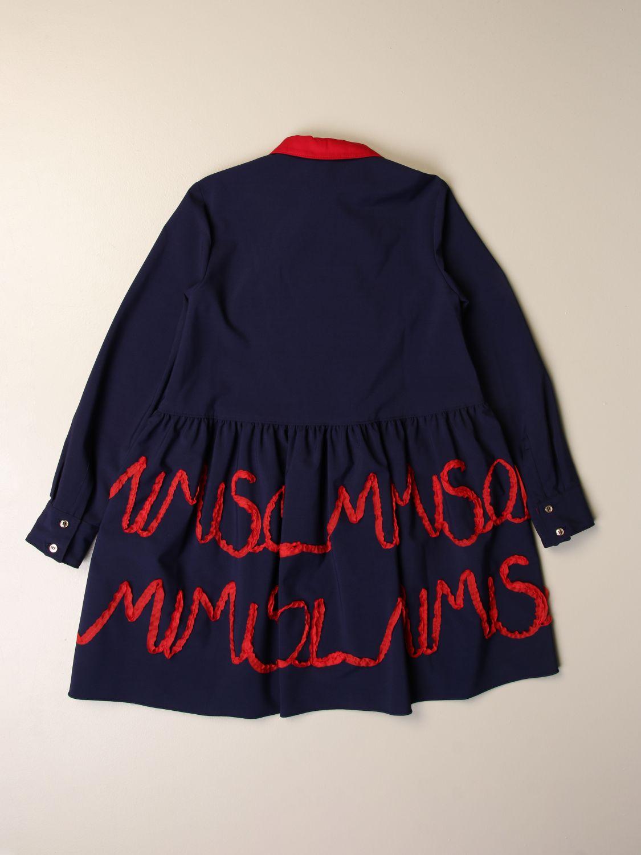 Платье Mi Mi Sol: Платье Детское Mi Mi Sol синий 2