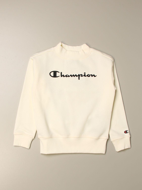 403805 S20 WW001 Champion Kinder T-Shirt weiß