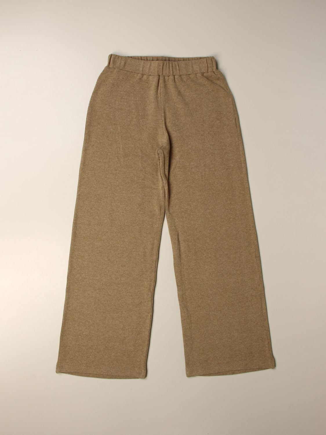 Trousers Caffe' D'orzo: Trousers kids Caffe' D'orzo black 1