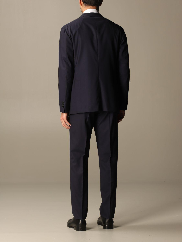 Suit Boglioli: Classic Boglioli single-breasted suit blue 2