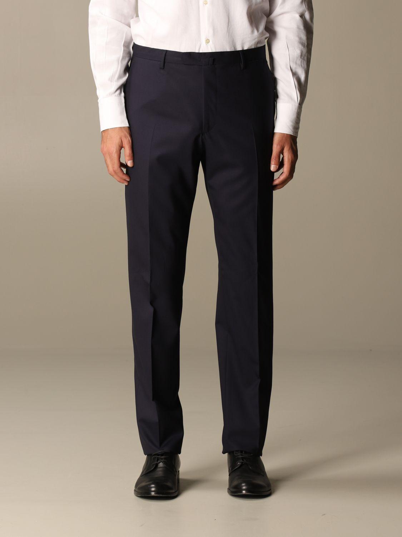 Suit Boglioli: Classic Boglioli single-breasted suit blue 4
