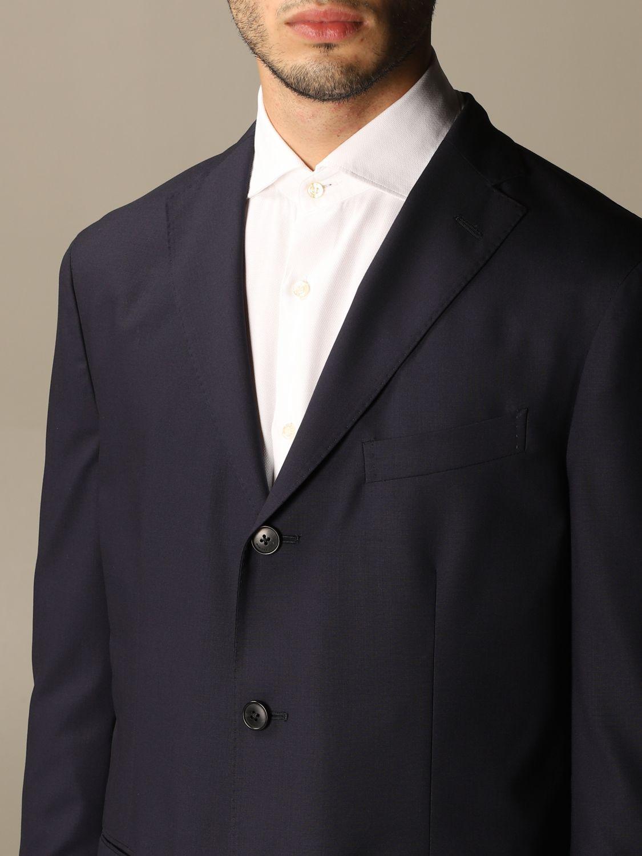 Suit Boglioli: Classic Boglioli single-breasted suit blue 5