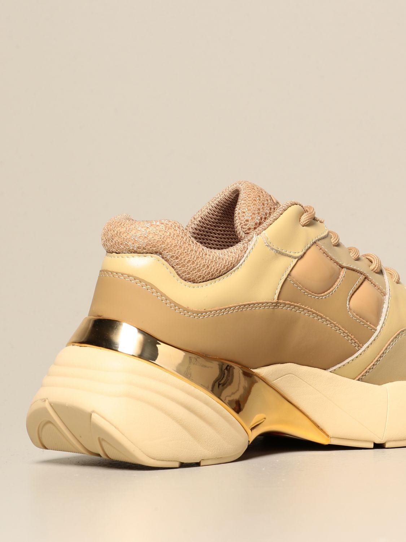 Sneakers Pinko: Rubino 4 Pinko sneakers in mesh and patent leather burnt 3